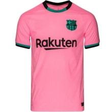 Третья аутентичная футболка Барселоны 2020-2021