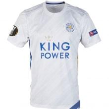Гостевая игровая футболка Лестер Сити 2020-2021