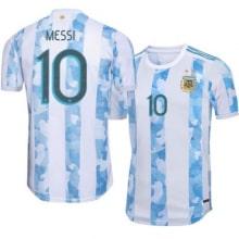 Домашняя футболка сборной Аргентины Месси 2020-2021