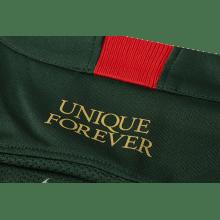 Гостевая игровая футболка Монако 2018-2019 воротник сзади