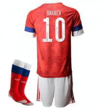 Детская домашняя форма России Бакаев на ЕВРО 2020-21