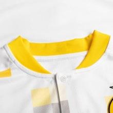 Комплект детской третьей формы Боруссии 2020-2021 футболка воротник