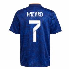 Гостевая футболка Реал Мадрид 2021-2022 Азар