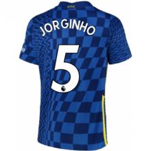 Домашняя игровая футболка Челси Жоржиньо 2021-2022
