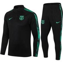 Черно-зеленый спортивный костюм Барселоны 2021-2022