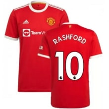 Домашняя игровая футболка Ман Юнайтед 2021-2022 Рашфорд