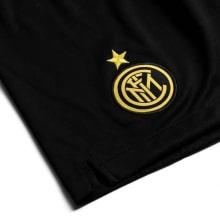 Детская третья футбольная форма Интера 2019-2020 шорты герб клуба