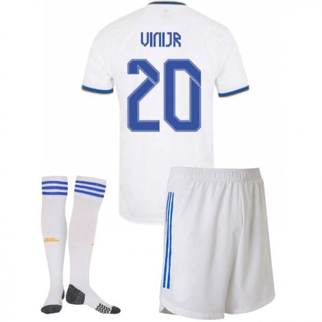 Детская домашняя форма Реал Мадрид 2021-2022 Винисиус