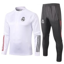 Бело-серый костюм Реал Мадрид 2020-2021