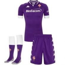 Комплект взрослой домашней формы Фиорентина 2020-2021 футболка шорыт и гетры