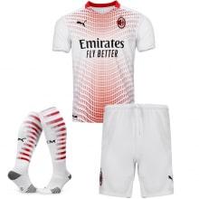 Детская гостевая футбольная форма Милан 2020-2021