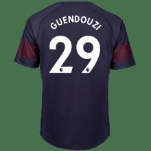 Гостевая футболка Арсенала Маттео Гендузи 2018-2019