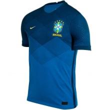 Гостевая аутентичная футболка сборной Бразилии 2020-2021