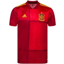 Тренировочная футболка сборной Испании на ЕВРО 2020