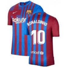 Домашняя футболка Барселоны 2020-2021 Роналдиньо