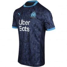 Гостевая игровая футболка Марселя 2020-2021