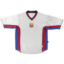 Гостевая ретро футболка Барселоны 1999-2000