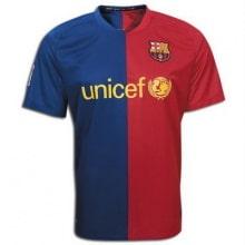Домашняя ретро футболка Барселоны 2008-2009