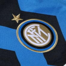 Комплект детской домашней формы Интера 2020-2021 футболка герб клуба