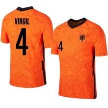 Домашняя футболка Голландии VIRGIL 4 на ЕВРО 2020-2021