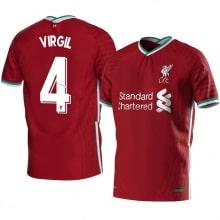 Домашняя футболка Ливерпуля 2020-2021 Вирджил ван Дейк