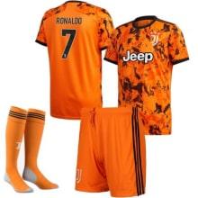 Детская третья футбольная форма Роналдо 2020-2021