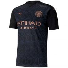 Гостевая игровая футболка Манчестер Сити 2020-2021