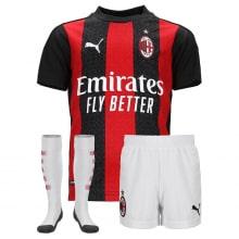Комплект взрослой домашней формы Милан 2020-2021
