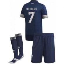 Детская гостевая футбольная форма Роналдо 2020-2021