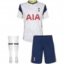 Комплект детской домашней формы Тоттенхэма 2020-2021 Бейл футболка шорты и герты