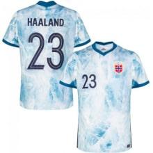 Домашняя футболка Норвегии на ЕВРО 20-21 Эрлинг Холанн