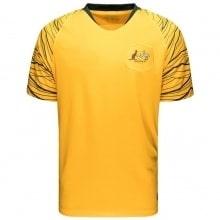 Домашняя футболка сборной Австралии на чемпионат мира 2018