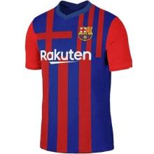 Комплект детской домашней формы Барселоны 2021-2022 футболка