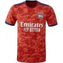 Комплект взрослой гостевой формы Лион 2021-2022 футболка