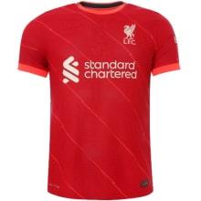 Комплект взрослой домашней формы Ливерпуля 2021-2022 футболка