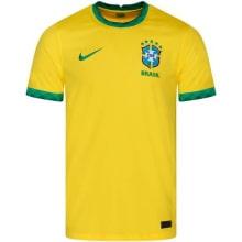 Детская домашняя форма Бразилии Неймар 2020-2021 футболка