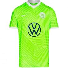 Домашняя игровая футболка Вольфсбурга 2021-2022