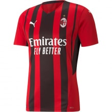 Домашняя игровая футболка Милан 2021-2022