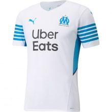 Домашняя игровая футболка Марселя 2021-2022