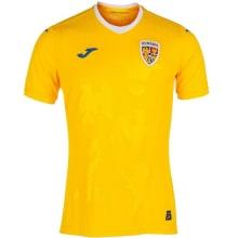 Домашняя футболка сборной Румынии по футболу 2021-2022