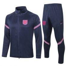 Темно-синий костюм сборной Англии по футболу 2021-2022