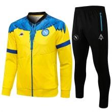 Желто-черный спортинвый костюм Наполи 2021-2022