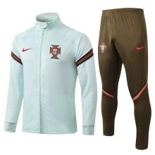 Коричнево-голубой костюм сборной Португалии 2021-2022