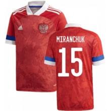 Домашняя футболка России Миранчук ЕВРО 2020-2021