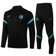 Черно-голубой спортивный костюм Интера 2021-2022