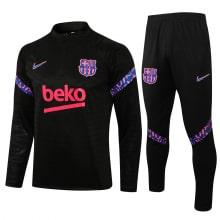 Черно-фиолетовый костюм Барселоны 2021-2022