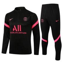 Черно-розовый костюм ПСЖ 2021-2022