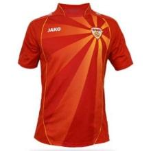 Домашняя футболка сборной Македонии на ЕВРО 2020-21