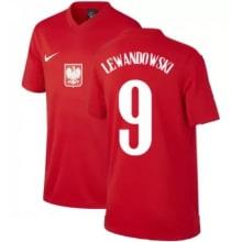 Гостевая футболка Польши Левандовски на ЕВРО 2020-21