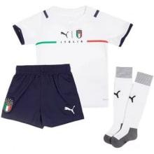 Детская четвертая футбольная форма Италии на ЕВРО 2020-21